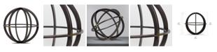Crystal Art Gallery American Art Decor Orb Dyson Sphere Sculpture Figurine Table Top Home Decor Accessory