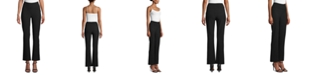 Anne Klein Double-Knit Flare Pants