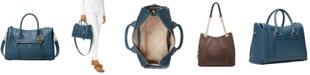 Michael Kors Carine Medium Leather Satchel