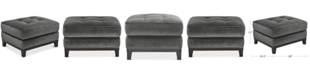 "Furniture Trentley 30"" Fabric Ottoman"