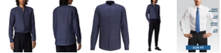 Hugo Boss BOSS Men's Jordi Navy Shirt