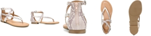 Bar III Tayla Strappy Flat Sandals, Created for Macy's