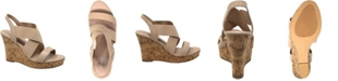 CHARLES by Charles David Lupita Platform Wedge Sandals