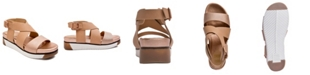 JANE AND THE SHOE Harper Treaded Footbed Sandals