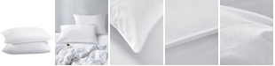 UNIKOME 2-Pack Feather & Down Bed Pillows, Standard/Queen Size