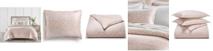 Charter Club Sleep Luxe Cotton 800-Thread Count 3-Pc. Printed Petal Ombre King Duvet Set, Created For Macy's