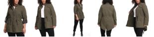 Levi's Trendy Plus Size Lightweight Cotton Fishtail Parka