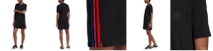 adidas Women's Sonic Trefoil Cotton T-Shirt Dress