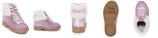 Juicy Couture Toddler Girls Glitter Hiker Bootie