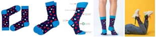 Love Sock Company Women's Super Soft Organic Cotton Novelty Socks