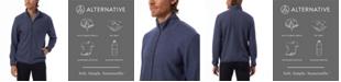 Alternative Apparel Men's Eco Teddy Full-Zip Fleece Jacket