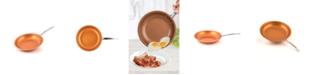 """MasterPan Copper-tone Ceramic Nonstick 12"""" Fry Pan"""