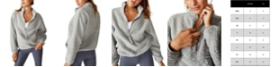 COTTON ON Women's Sherpa Zip Fleece Sweatshirt