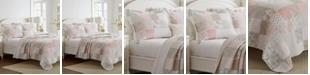 Laura Ashley Celina Full/Queen Patchwork Quilt Set, 3 Piece