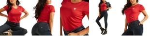 GUESS Crew-Neck Logo T-Shirt