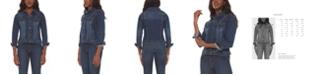 Lola Jeans Women's Plus Size Denim Jacket