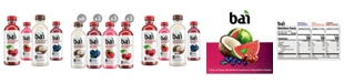 Bai Water Sunset Variety Pack, 18 oz, 15 Count