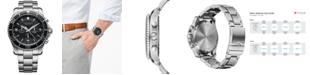 Victorinox Swiss Army Men's Chronograph Maverick Stainless Steel Bracelet Watch 43mm 241695