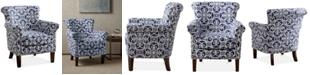 Furniture Sarah Tight Back Club Chair, Quick Ship
