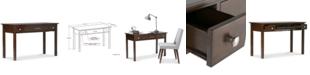 Simpli Home  Avalon Office Desk, Quick Ship