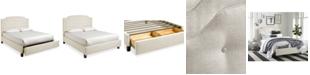 Furniture Malinda Upholstered Storage California King Bed