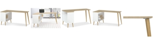 Furniture Sorena Desk, Quick Ship
