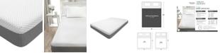 "Martha Stewart Collection 10"" Cushion Firm Memory Foam Mattress-California King, Quick Ship, Mattress in a Box"