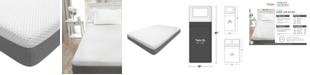 "Martha Stewart Collection 10"" Cushion Firm Memory Foam Mattress, Quick Ship, Mattress in a Box- Twin XL"