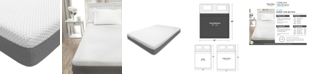 "Martha Stewart Collection 10"" Cushion Firm Memory Foam Mattress- King, Quick Ship, Mattress in a Box"