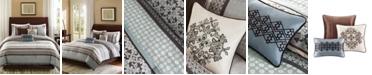 Madison Park Princeton 7-Pc. Queen Comforter Set