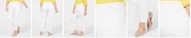 Charter Club Plus Size Mid-Rise Skinny Jeans, Created for Macy's