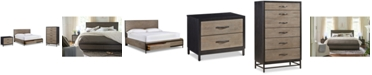 Furniture Avery Brown Storage Bedroom Furniture, 3-Pc. Set (Queen Bed, Chest & Nightstand)