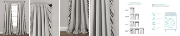 "Lush Decor Reyna Window Curtain Panel Set, Light 54""x84"""
