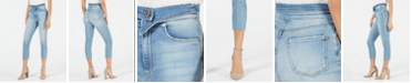 STS Blue Alicia Folded-Waist Cropped Skinny Jeans