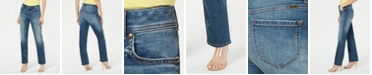 INC International Concepts I.N.C. Five-Pocket Straight-Leg Jeans, Created for Macy's