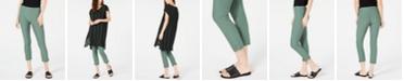 Eileen Fisher Slim Washable Crepe Cropped Pants, Regular & Petite