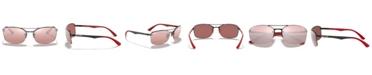 Ray-Ban Polarized Sunglasses, RB3617M 63
