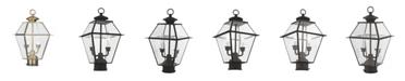 Livex Westover 2-Light Outdoor Post Lantern