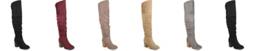 Journee Collection Women's Extra Wide Calf Kaison Boot