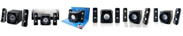 iLive Bluetooth 2.1 Channel Home Music System with LED Lights