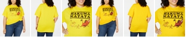 Mighty Fine Trendy Plus Size Cotton Hakuna Matata Graphic T-Shirt