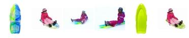 "EMSCO Group EMSCO Sports Products 48"" Day Glow Sno Cruiser Toboggan - Two-Rider Sled"