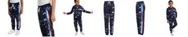 Tommy Hilfiger Toddler Boys Courtney Splatter-Print Fleece Sweatpants