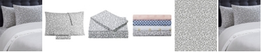 Juicy Couture Silver Leopard 4-Piece Queen Microfiber Sheet Set