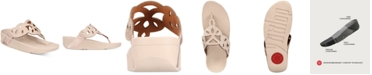 FitFlop Elora Crystal Toe-Thong Sandals