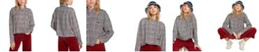 Volcom Juniors' Plaid Button-Up Shirt