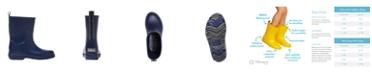 Totes Little Kids Unisex Cirrus Charley Tall Waterproof Rain Boots