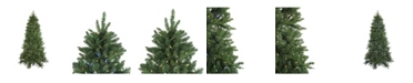 Northlight Pre-Lit instant Connect Led Neola Fraser Fir Artificial Christmas Tree - Dual Lights