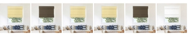 """Chicology Cordless Magnetic Roman Shades, Privacy Fabric Window Blind, 23"""" W x 64"""" H"""