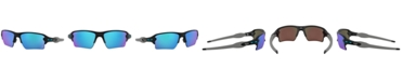Oakley NFL Collection Sunglasses, Detroit Lions OO9188 59 FLAK 2.0 XL